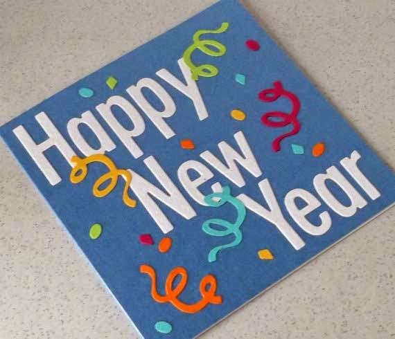 Happy new year greetings card making new year card idea homemade soft card self making so you need to register as user and make card online now time to send with your lover friends or anything else you want to like m4hsunfo