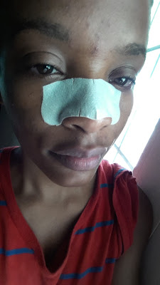 Biore Ultra Deep Cleansing Pore Strip applied www.modenmakeup.com