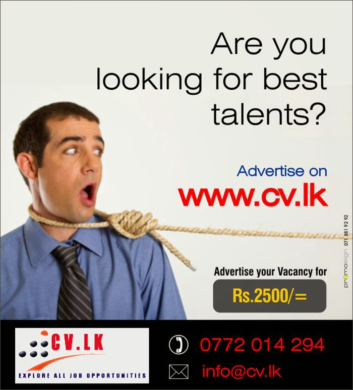 Job Seekers / Job Candidates :: CV.LK provides you with the most comprehensive suite of career building tools available. By using CV Sri Lanka online employment services and job search you will gain the valuable knowledge necessary to succeed in today's employment marketplace.Whether you're looking for a new job, or ready to take the next step in your career, we'll help you find the opportunity that's right for you.