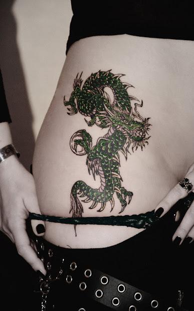 dragon tattoo girls