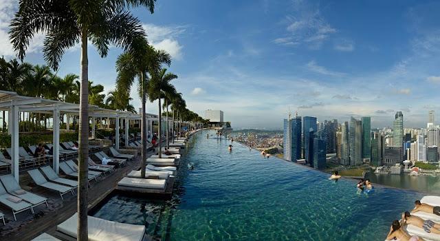 piscina marina bay sands singapore
