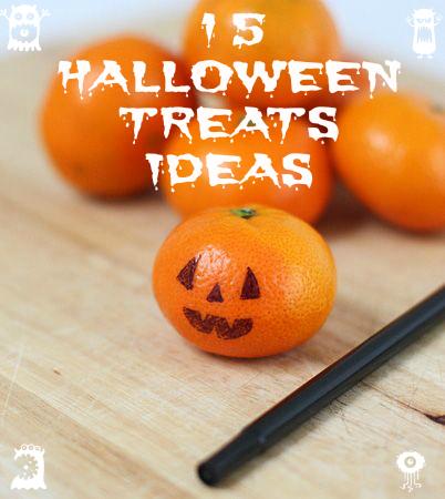 15 Healthy Halloween Treats Ideas!