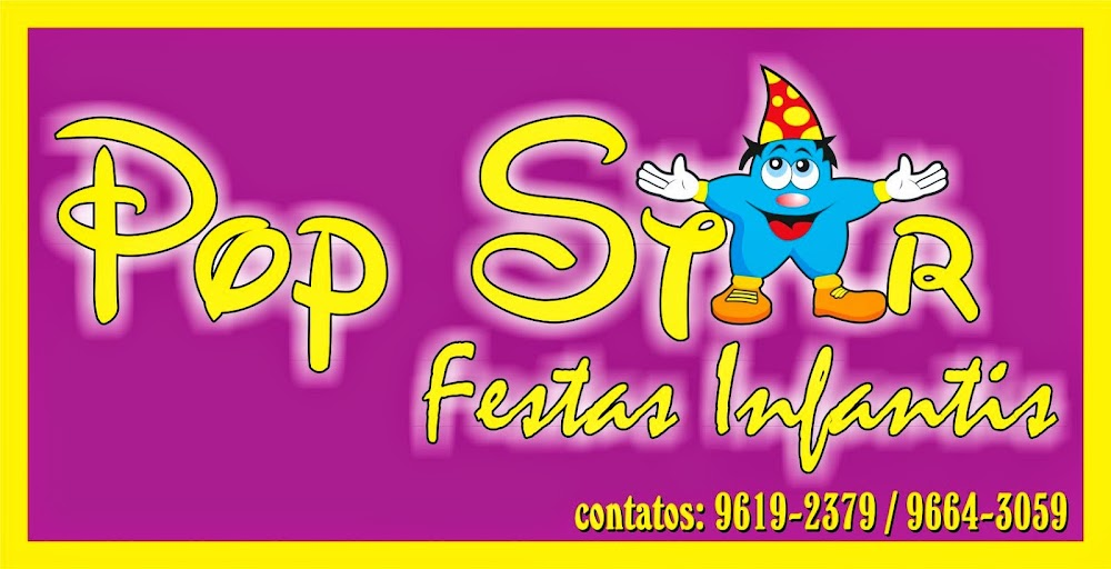 POP STAR Festas Infantis