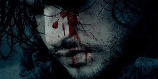 jon snow vivo muerto juego de tronos poster hbo