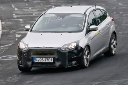 2014 Ford Focus ST Spy Shots