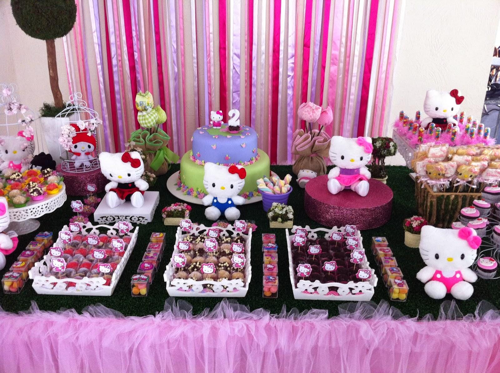 Mammys Festa Tema Hello Kitty