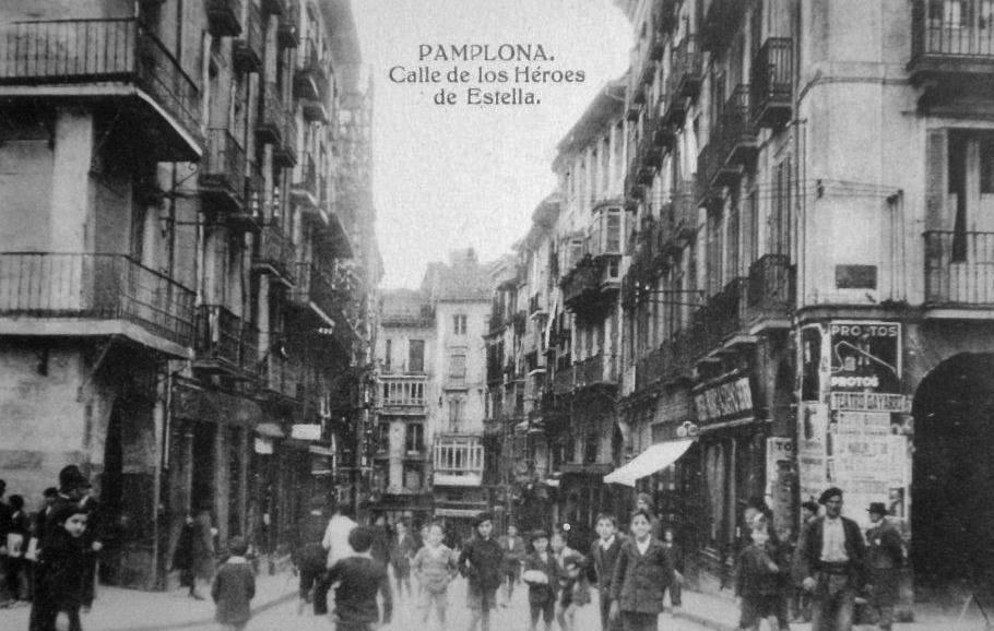 reunirse sitio de citas paseo en Pamplona