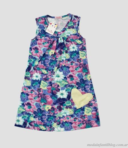Moda infantil verano 2013 Mili Ro