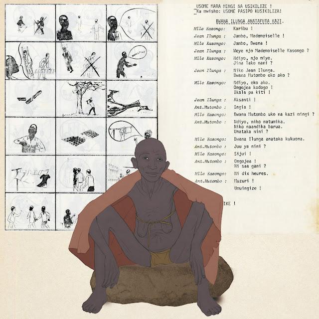 comunicacion, antropologia,  Africa,s whahili, Congo, Carsi, dibujo