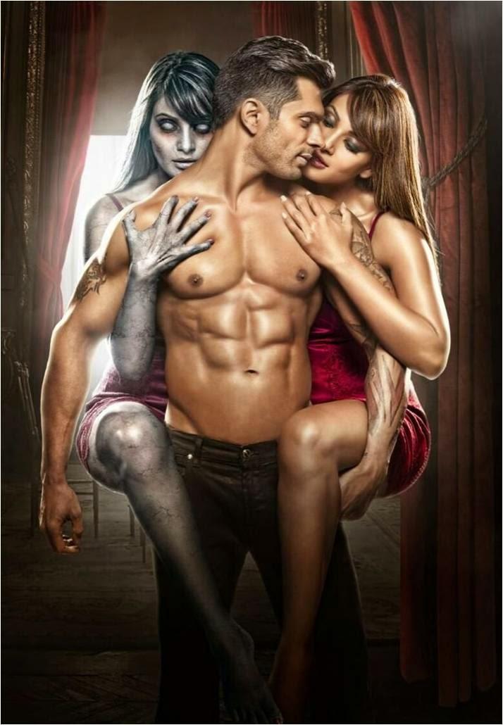 Karan Singh Grover and Bipasha Basu in Hindi movie Alone