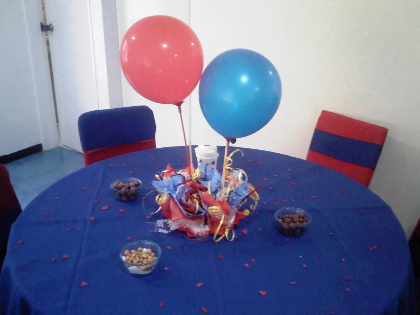 Evento fiesta infantil servicio decoracion de salon - Centros mesa salon ...