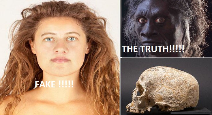 Οι επιστήμονες των μασόνων «αναδημιούργησαν» το πρόσωπό της «Εύας» ως λευκη! ενώ ηταν μαύρη! και δεν είχε σχέση με Ευρωπαίες!