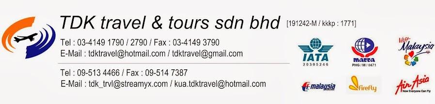 TDK Travel & Tours Sdn Bhd