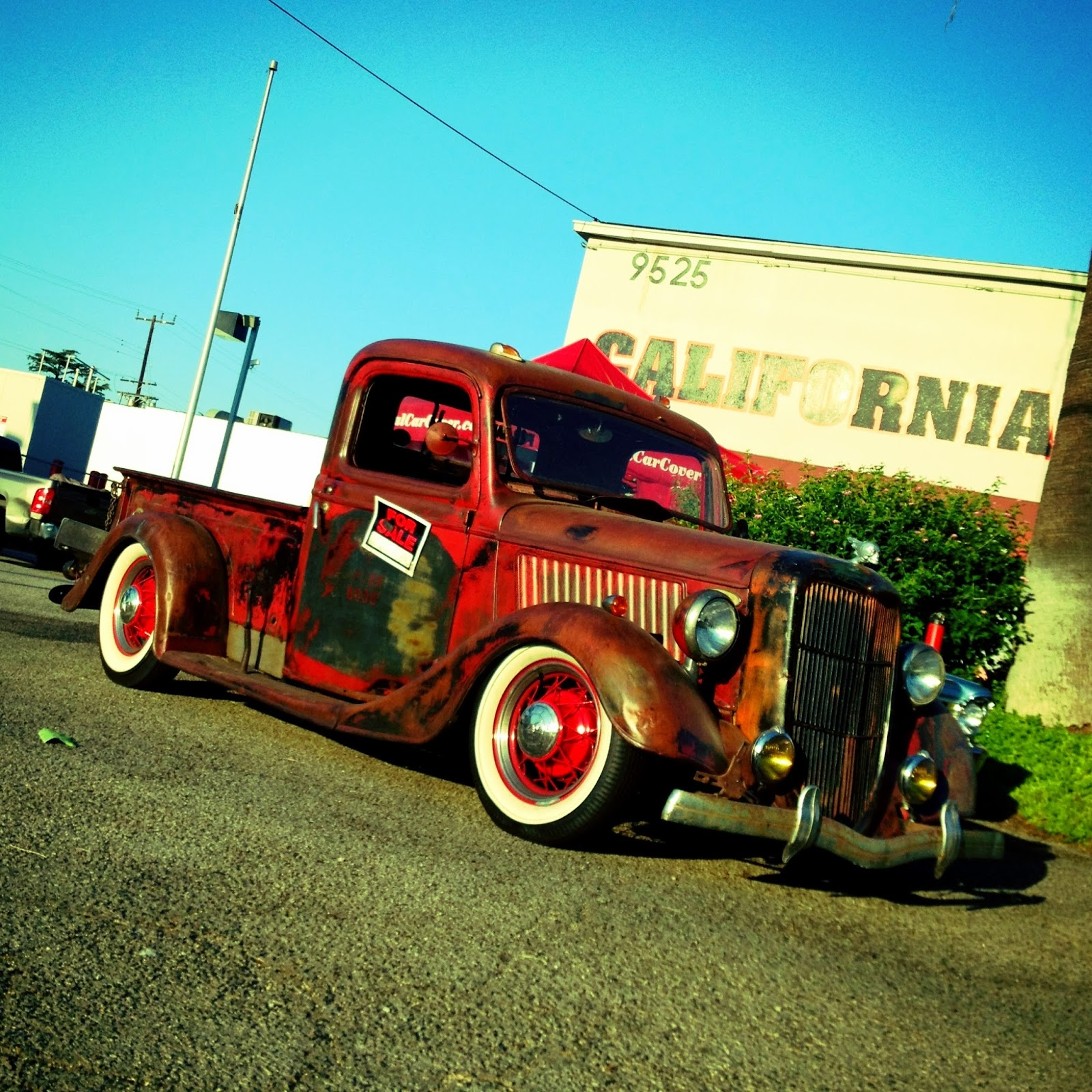 Covering Classic Cars : 5th Annual Parking Lot Sale & Parts ...