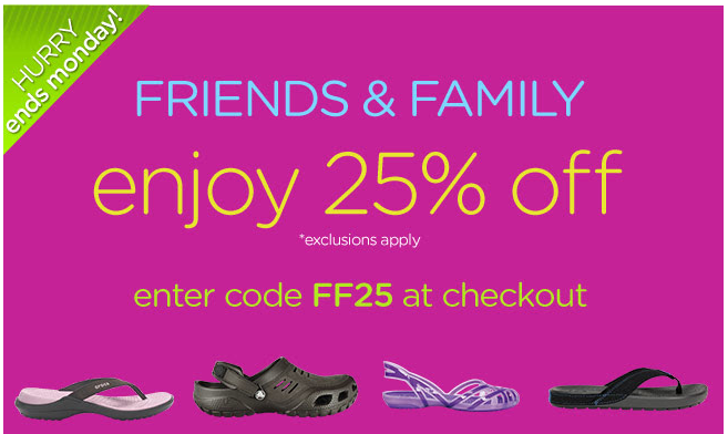 Crocs Coupon Promo Code