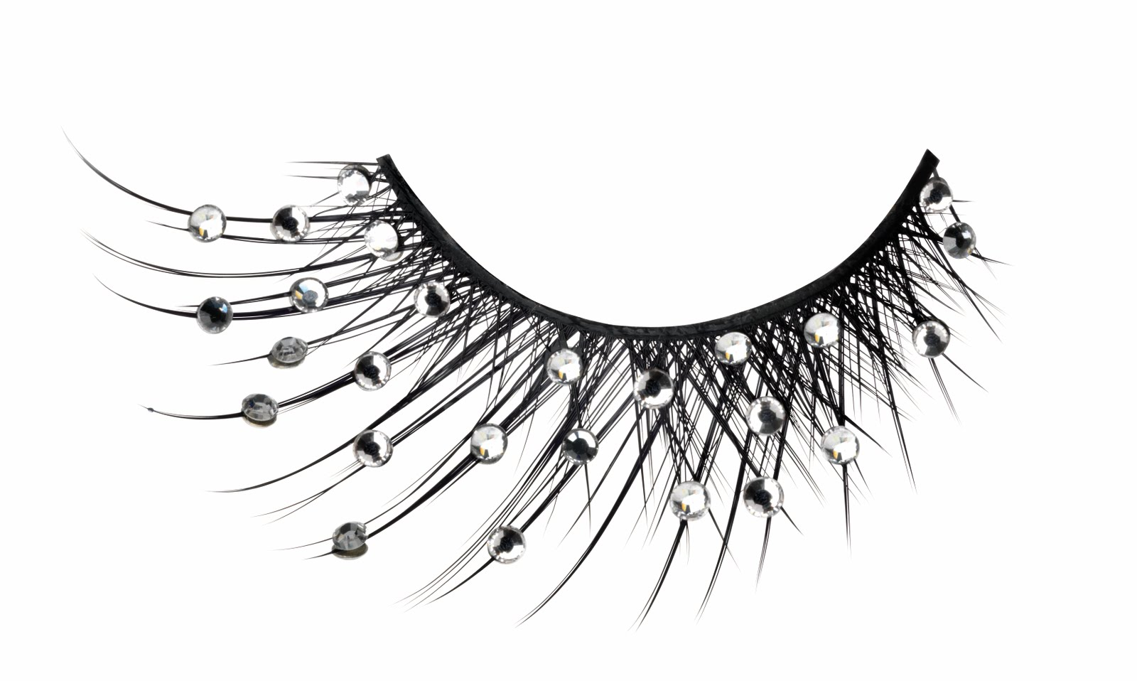 GLITTER MAGPIE: AT LONG LASH; Fake eyelashes are all the rage