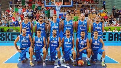 Nazionale Italiana di Basket Euro 2013