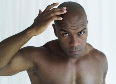 Balding African American Man