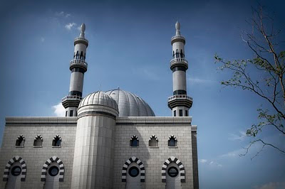 The Largest Mosque in Europe - Essalam Mosque pictures
