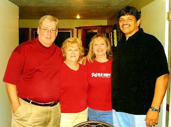 Curt & Inez with Cheri & Dorian Flynn