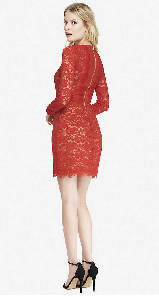 Red dress express return