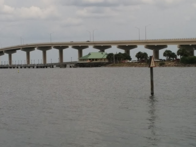 View by the water -Bridge to Merritt Island