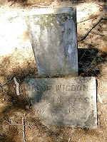 Grave of Jane Reeves Wilson in Hempstead County, Arkansas