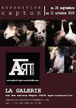 AGON-COUTAINVILLE (MANCHE) : EXPOSITION PERSONNELLE À LA GALERIE