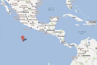 Sismo oeste de México 26 de Marzo 2012