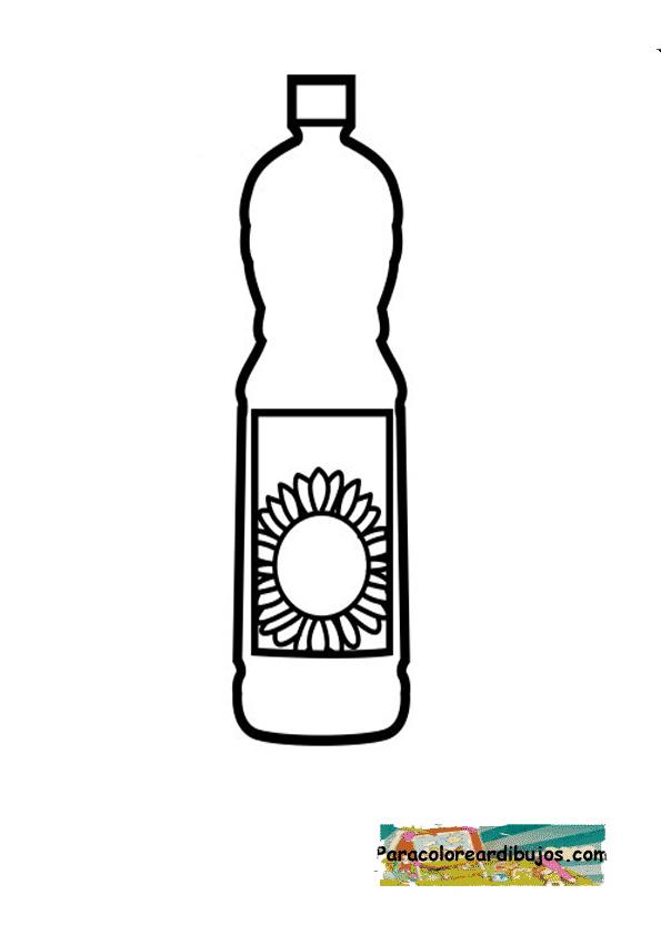 aceite de girasol para colorear