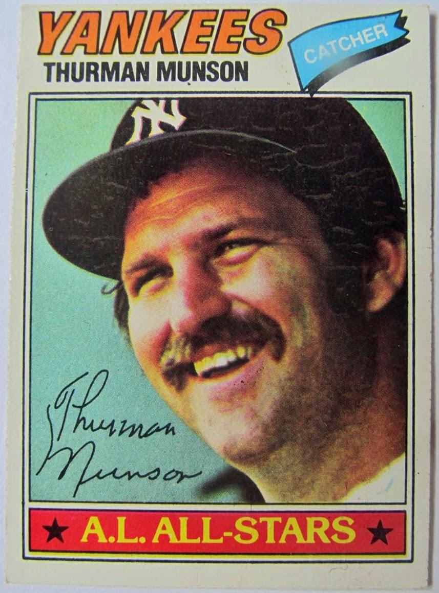 Thurman Munson All-Star card