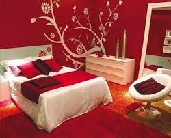 غرفة نوم رومنسية