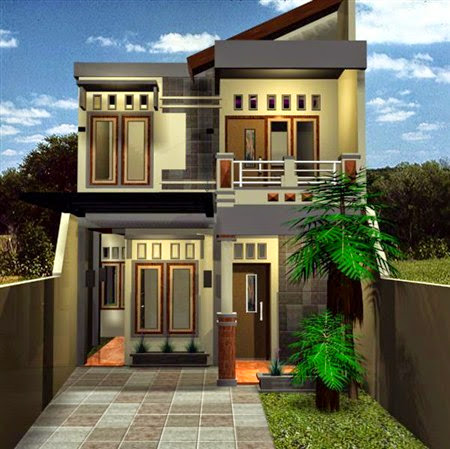 Gambar Desain Rumah Minimalis Modern 2 Lantai Terbaik 2017/2018