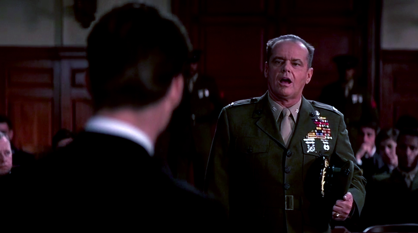 a review of the movie a few good men A few good man movie review  about a few good men movie is it speaks to how military honor can be so readily suborned by the authoritarian impulse and second, how .