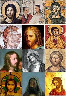 Images of Jesus Christ by different artists and cultures