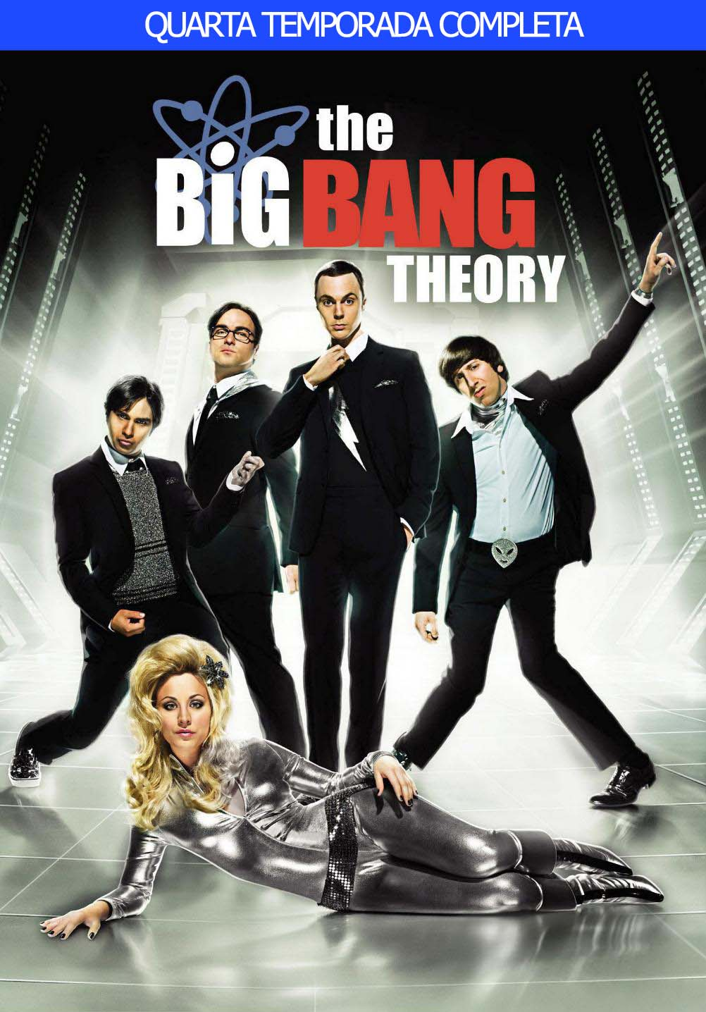 The Big Bang Theory 4ª Temporada Torrent - Blu-ray Rip 720p Dual Áudio (2010)