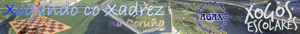 AGAX - Xogos Escolares de Xadrez na Coruña