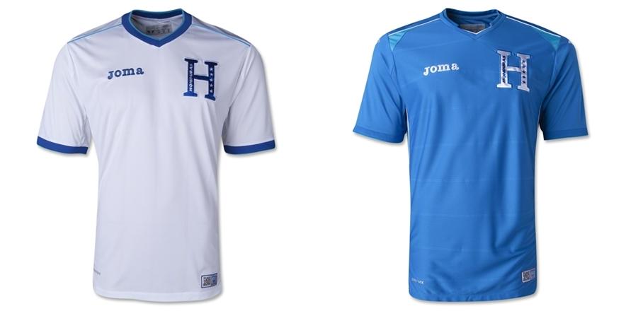 Honduras - Jersey Grade Ori Piala Dunia 2014