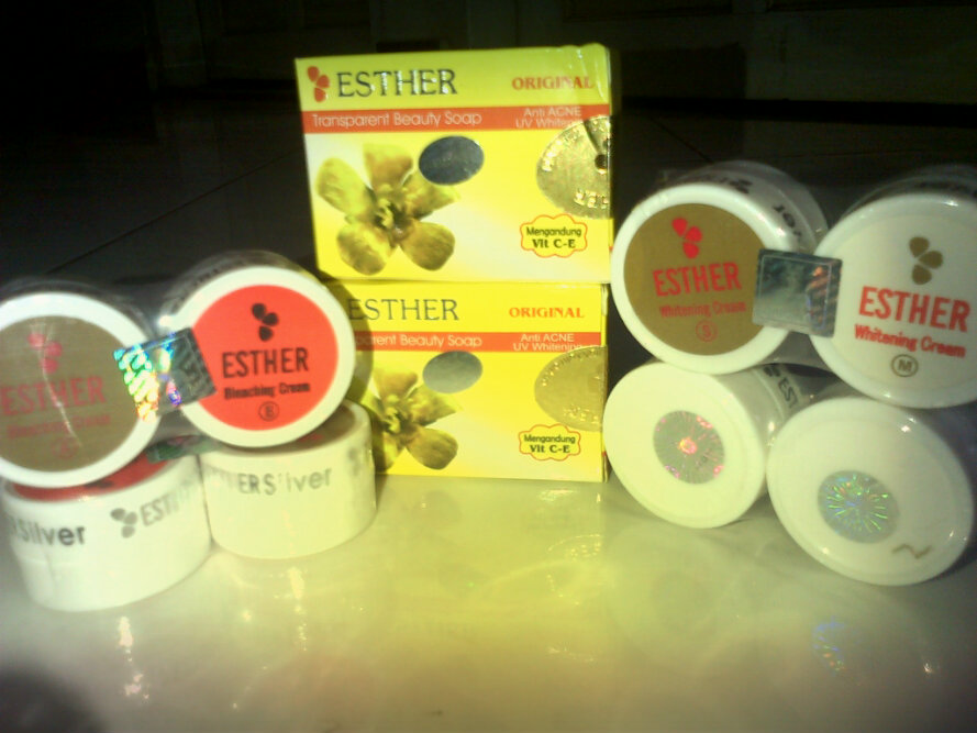 Esther Silver Bleaching Cream Esther Silver Whitening Cream