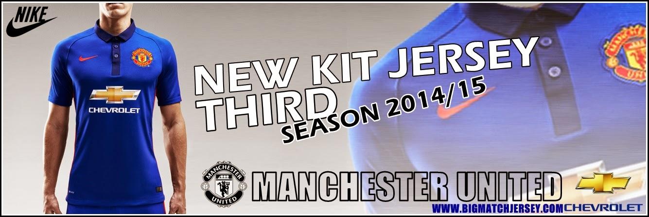 Banner Agen Grosir Jersey Bola Greade Ori Manchester United Third Official Musim 2015