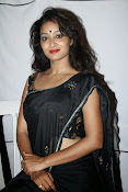 Actress Bhanu Hot photos in black-thumbnail-12