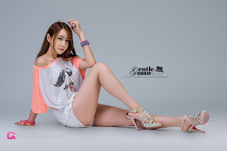 1 Han Chae Yee - Moustache - very cute asian girl - girlcute4u.blogspot.com