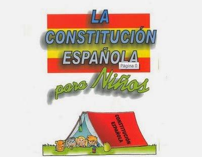 La Constitución Española para niños/as