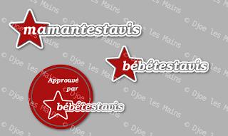 Logos et badge pour Mamantestavis