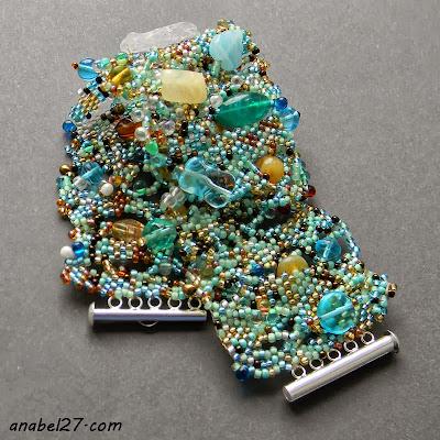 браслет бисер фриформ купить в украине анабель