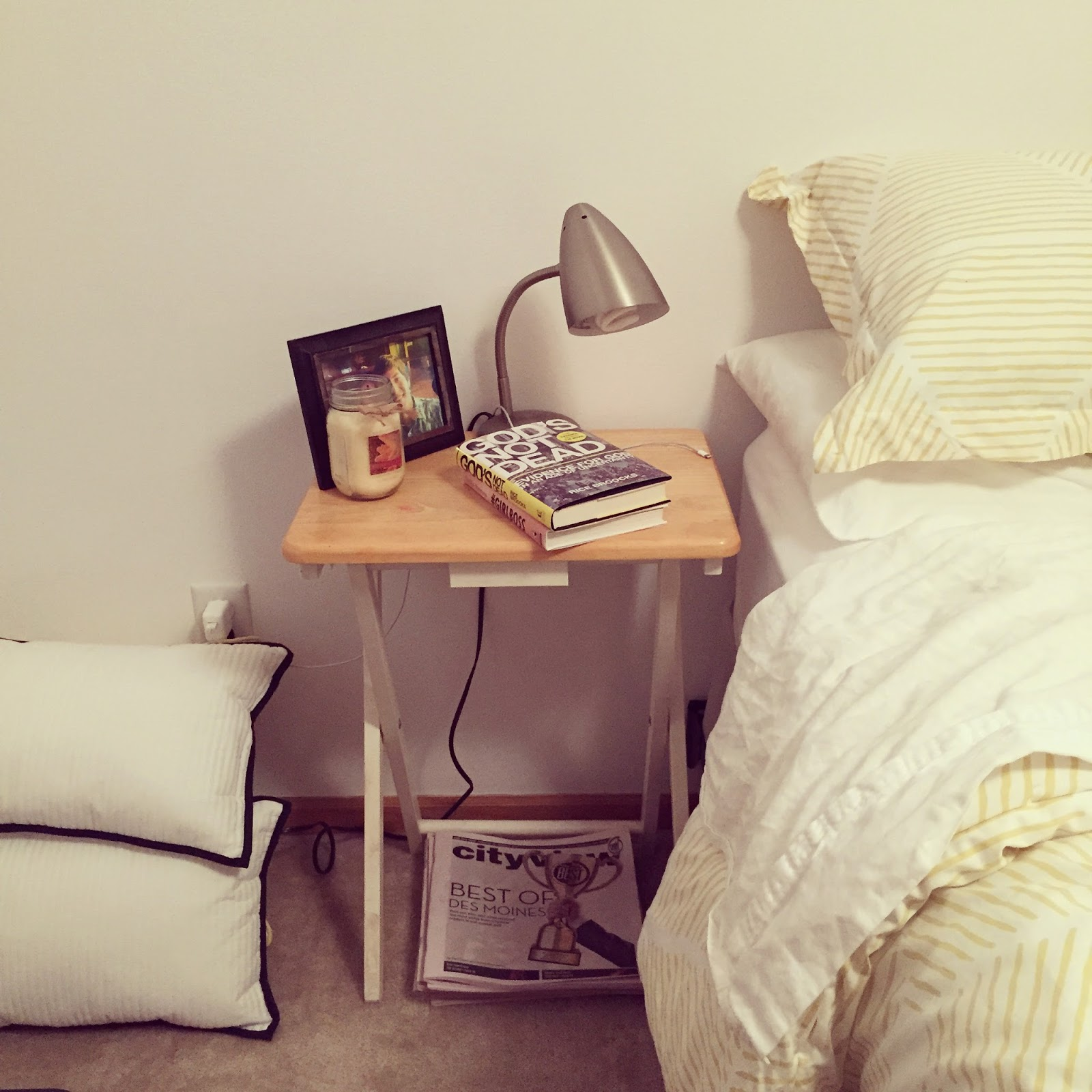 home decor bedroom decorating project nightstand