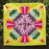 free pattern!  Dreamcatcher quilt by Tula Pink