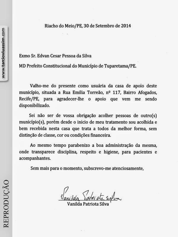 Fabuloso Tarcio Viu Assim: UMA MENSAGEM DE AGRADECIMENTO E ELOGIO À CASA DE  QG51