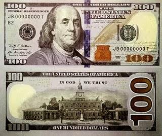 EEUU inundará el mercado con 3.400 millones de billetes de 100 dólares con nuevos puntos de segurid
