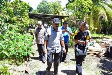 Throback Program Sukarelawan Mahasiswa Gabungan Perak dan Pulau Pinang di Permatang Pauh